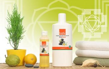 Mistura Orgânica de Óleos para Massagem Ayurvédica (Kapha)