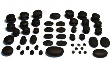 Conjuntos de Pedras Naturais para Massagem