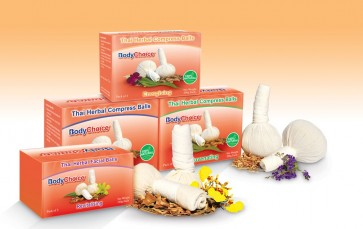 Conjunto de Compressas Herbais Naturais Tailandesas