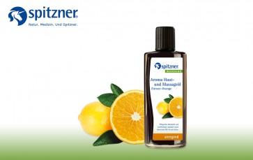 Mistura de Óleos de Limão e Laranja para Massagem