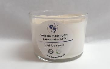 Vela de Massagem e Aromaterapia - Mel | Amyris