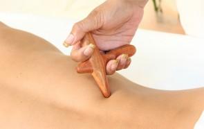 Acessório Tailandês para Massagem com 4 Pontas