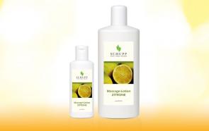 Loção de Limão para Massagem