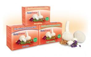 Conjunto de Compressas Herbais Orgânicas Tailandesas
