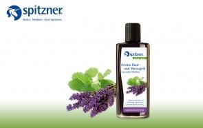 Mistura de Óleos de Alfazema e Erva-Cidreira para Massagem