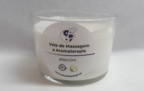 Vela de Massagem e Aromaterapia - Alecrim