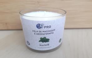 Vela de Massagem e Aromaterapia - Hortelã